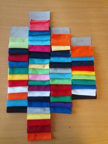 Đồng phục đẹp nhờ cách phối màu