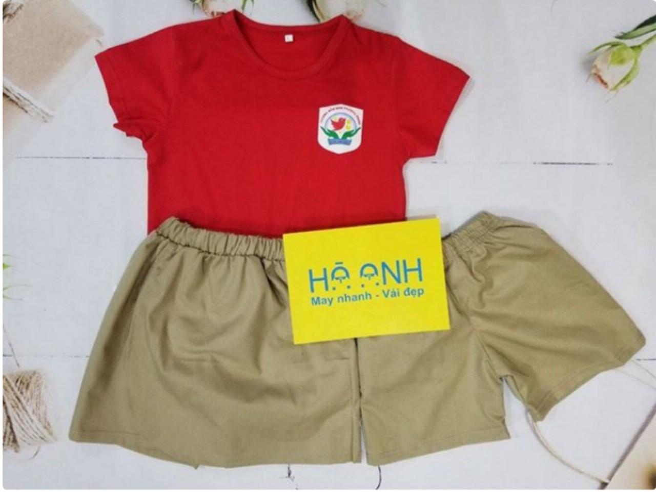 mẫu đồng phục mầm non