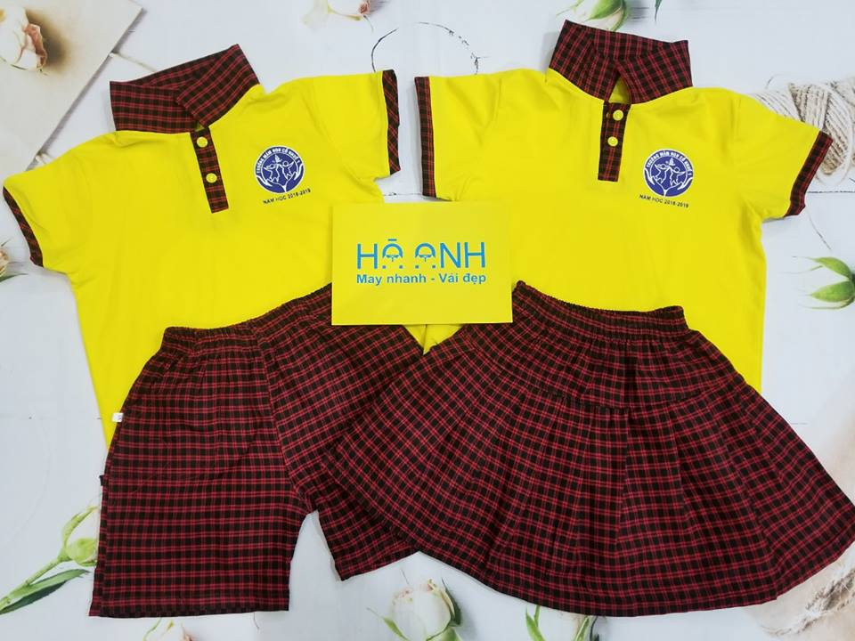 đồng phục trẻ mầm non