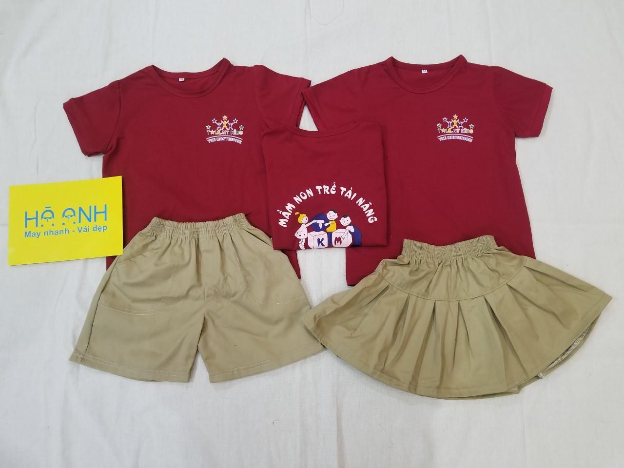 đồng phục cho trẻ mẫu giáo